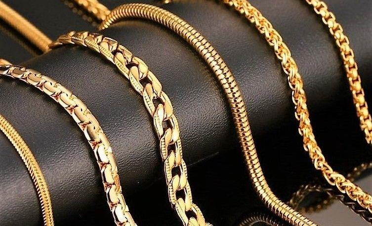 цепочек из золота фото