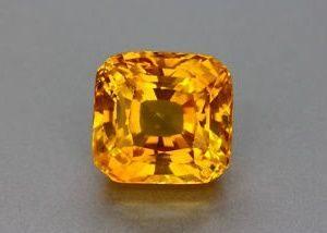 Желтый сапфир - редкая разновидность цвета