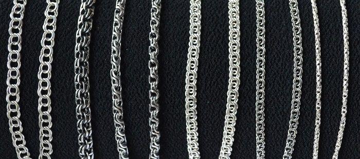 Плетение цепочки бисмарк