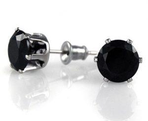 Черный фианит - имитация бриллианта