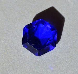 Ситалл синий - имитация сапфира