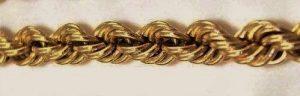 Жгут - плетение цепочки
