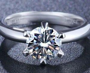 Кольцо с муассанитом - доступная красота