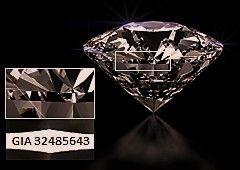 Лазерный сертификат бриллианта - признак подлинности