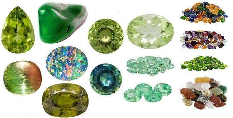Полудрагоценные камни, названия и фото