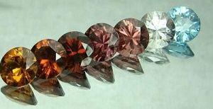 Цвета циркона - полудрагоценного камня