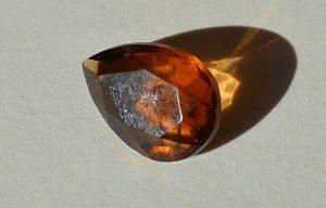 Дымчатый кварц - имитация топаза