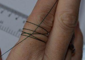 Как измерить размер пальца ниткой