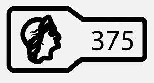 Клеймо пробы 375