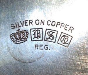 Медь покрытая серебром