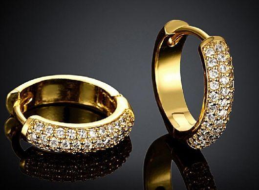 Золотые сережки, фото